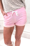 Hot Pink Drawstring Waist Lounge Shorts - Kendry Collection Boutique