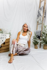 Ivory Tie Dye Jogger Pants - Shop Kendry Collection Boutique