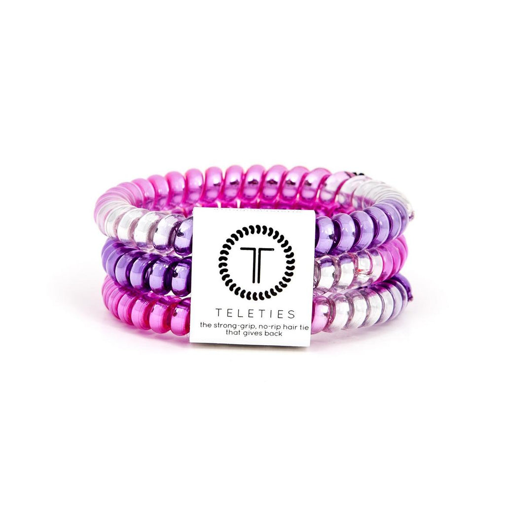 Small Teleties - Pink Purple - Kendry Collection Boutique