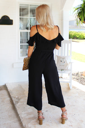 The Frill Of It Off The Shoulder Jumpsuit