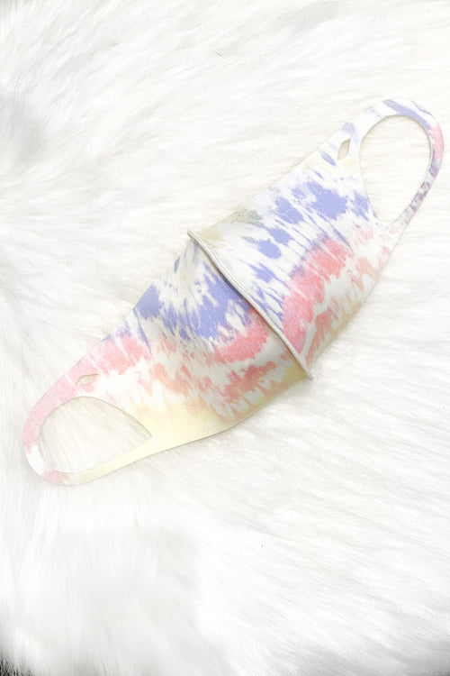 Tie Dye Mirawave Antibacterial Face Mask- Shop Kendry Collection Online Boutique