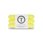 Sunshine Yellow Teleties - Large, Hair Ties - Kendry Collection Boutique