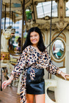 Silky Leopard Long Sleeve Top - Shop Kendry Collection Boutique