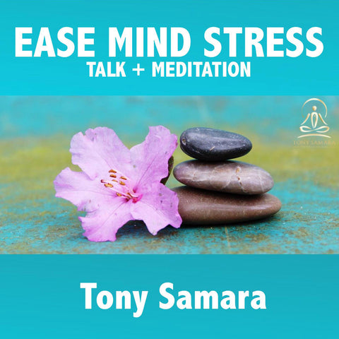 Ease Mind Stress - Talk + Meditation - Tony Samara Meditation