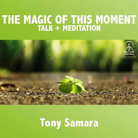 The Magic Of This Moment Talk and Meditation - Tony Samara Meditation