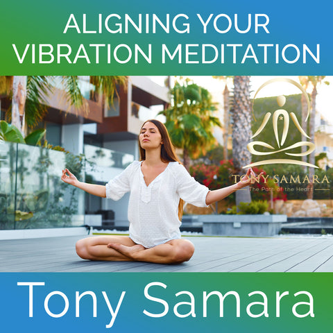 Aligning Your Vibration Meditation (MP3 Audio Download) - Tony Samara Meditation