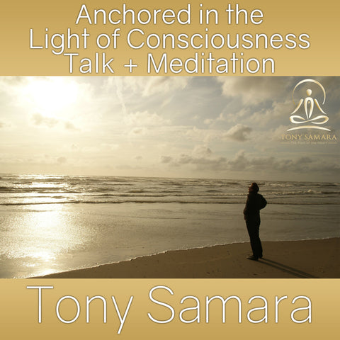 Anchored in the  Light of Consciousness Talk + Meditation (MP3 Audio Download) - Tony Samara Meditation