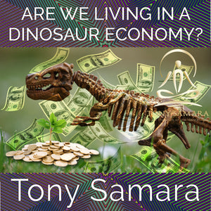 Are We Living in a Dinosaur Economy? (MP3 Audio Download) - Tony Samara Meditation