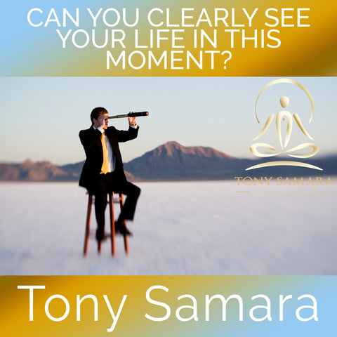 Can You Clearly See Your Life in This Moment? (MP3 Audio Download) - Tony Samara Meditation
