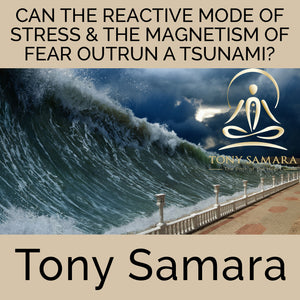 Can the Reactive Mode of Stress & the Magnetism of Fear Outrun a Tsunami? (MP3 Audio Download) - Tony Samara Meditation