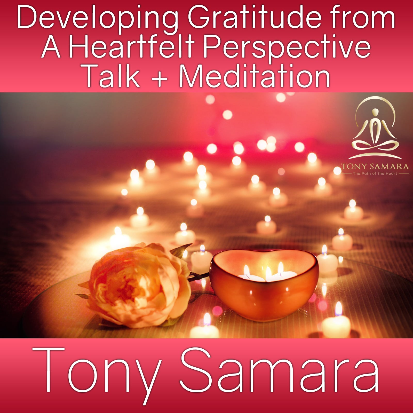 Developing Gratitude from A Heartfelt Perspective Talk + Meditation (MP3 Audio Download) - Tony Samara Meditation