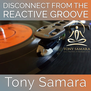 Disconnect from the Reactive Groove (MP3 Audio Download) - Tony Samara Meditation