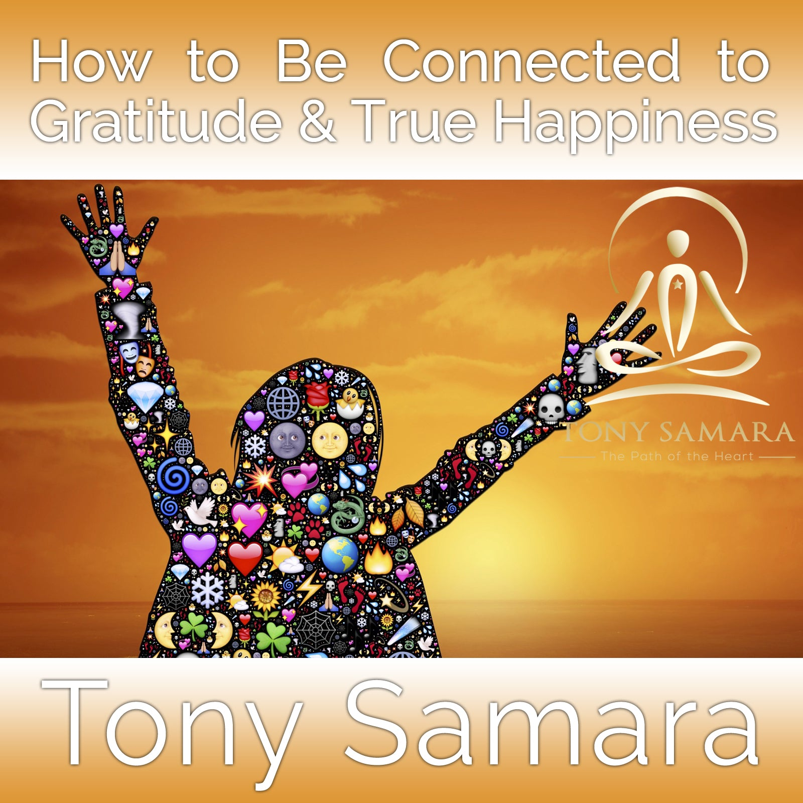 How to Be Connected to Gratitude & True Happiness (MP3 Audio Download) - Tony Samara Meditation