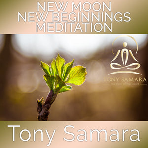 New Moon New Beginnings Meditation (MP3 Audio Download) - Tony Samara Meditation