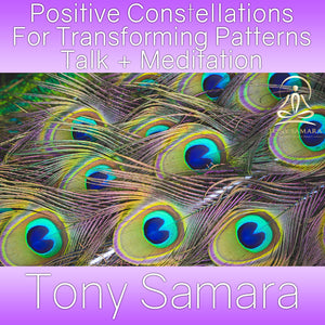 Positive Constellations For Transforming Patterns Talk + Meditation (MP3 Audio Download) - Tony Samara Meditation