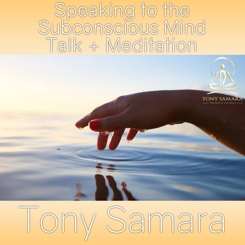 Speaking to the Subconscious Mind Talk + Meditation (MP3 Audio Download)