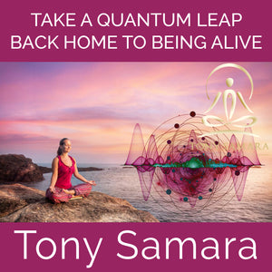 Take A Quantum Leap Back Home to Being Alive (MP3 Audio Download) - Tony Samara Meditation