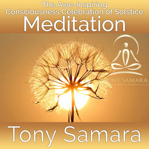 The Awe-Inspiring Consciousness Celebration of Solstice Meditation (MP3 Audio Download) - Tony Samara Meditation