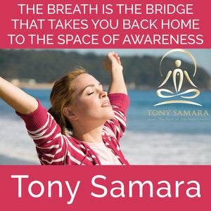 The Breath is the Bridge That Takes You Back Home to the Space of Awareness (MP3 Audio Download) - Tony Samara Meditation