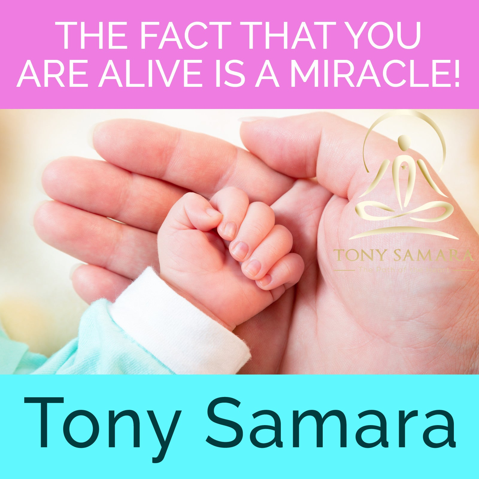 The Fact That You Are Alive is a Miracle! (MP3 Audio Download) - Tony Samara Meditation