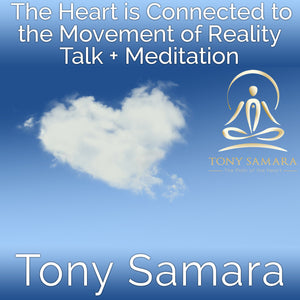 The Heart is Connected to the Movement of Reality Talk + Meditation (MP3 Audio Download) - Tony Samara Meditation