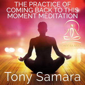 The Practice of Coming Back to this Moment Meditation (MP3 Audio Download) - Tony Samara Meditation