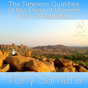 SPECIAL EDITION - 1 Hour Transmission - The Timeless Qualities of this Present Moment - Tony Samara Meditation