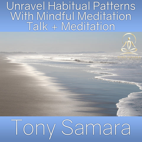 Unravel Habitual Patterns With Mindful Meditation Talk + Meditation (MP3 Audio Download)