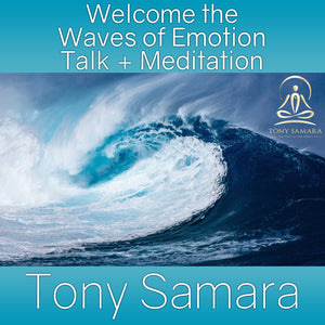 Welcome the Waves of Emotion Talk + Meditation (MP3 Audio Download) - Tony Samara Meditation