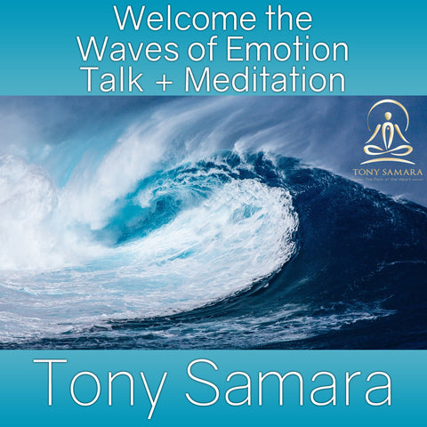 Welcome the Waves of Emotion Talk + Meditation (MP3 Audio Download)