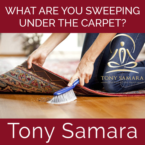 What Are You Sweeping Under the Carpet? (MP3 Audio Download) - Tony Samara Meditation