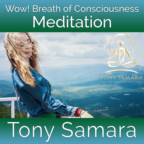 Wow! Breath of Consciousness Meditation (MP3 Audio Download)
