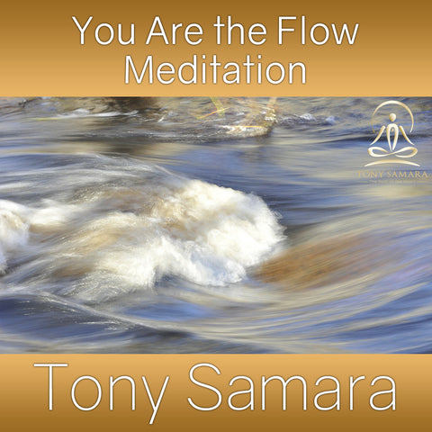 You Are the Flow Meditation (MP3 Audio Download) - Tony Samara Meditation