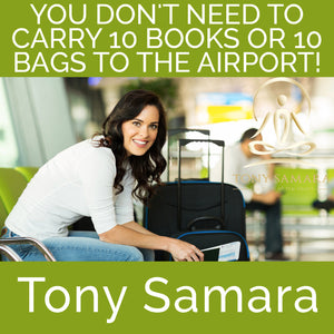 You Don't Need to Carry 10 Books or 10 Bags to the Airport! (MP3 Audio Download) - Tony Samara Meditation