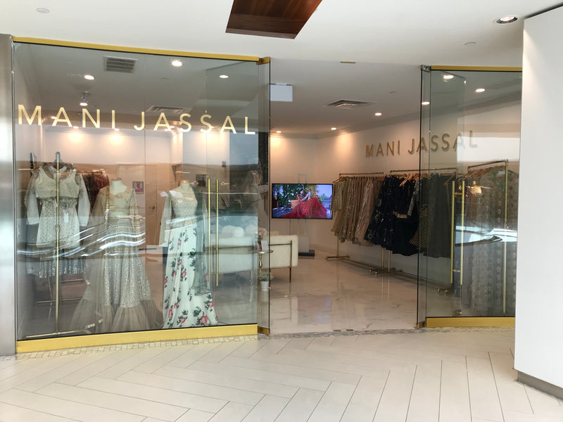 The Mani Jassal Showroom Expands to Yorkville Village!