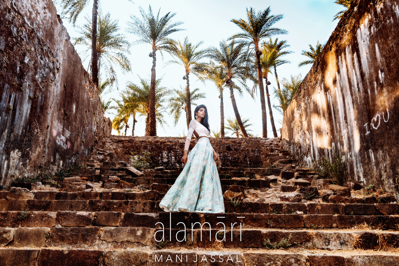 MANI JASSAL ALAMARI RESORT COLLECTION 2017