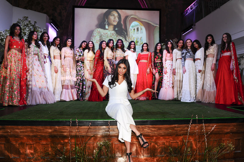 The Garden of Desire | Erised  story is brought to life at The MANI JASSAL Fashion Show