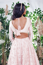 Rosé ROSEGOLD BUSTIER WITH SLEEVES