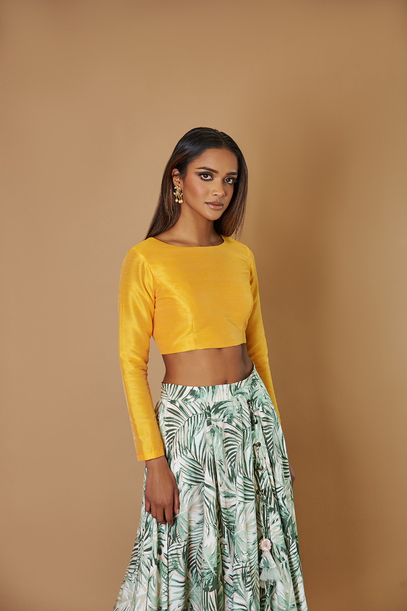 MUSTARD CLASSIC MKJ TOP [No Back Cut Out]