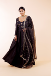 'WITH LOVE' BLACK MIRROR DUPATTA