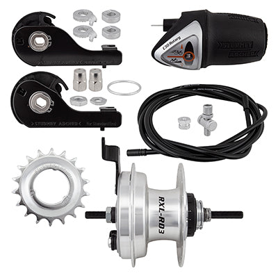 RXLRD3 3sp Hub & Drum Brake Kit