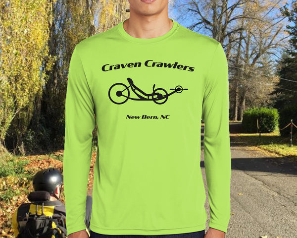Craven Crawlers  Long Sleeve T-Shirt - Sport-Tek® Competitor™