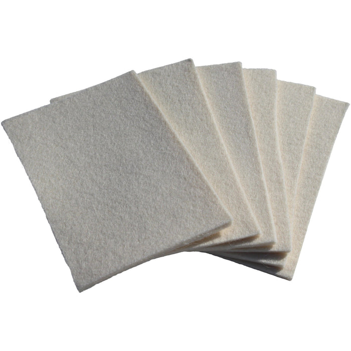 "Hand Felt Pad 4"" X 6"" - 6 PK - Lat 26 Degrees"