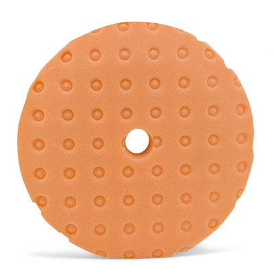 Orange Polishing Pads with advanced air flow technology - 6""