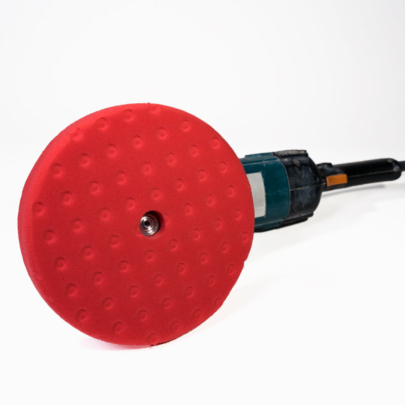 Red Finishing Pad - 8""