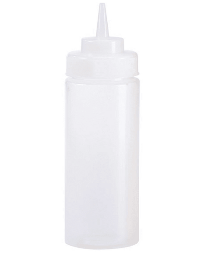 Clear Squeeze Bottle 16oz