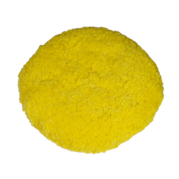 Yellow Fine Polish Pad 9""