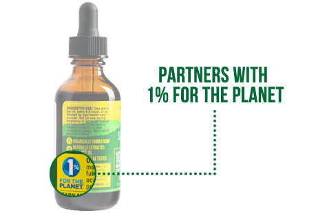 Sunsoil CBD Supports 1% for the Planet - How to Read Sunsoil CBD Labels