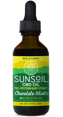 Sunsoil Full Spectrum CBD Chocolate Mint