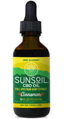 Sunsoil Full Spectrum CBD Cinnamon